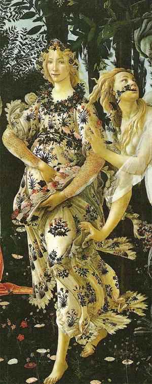 Botticelli, la primavera