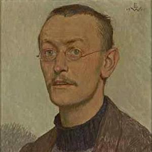Hermann Hesse 1905, ritratto da Ernst Würtenberger (1868–1934)