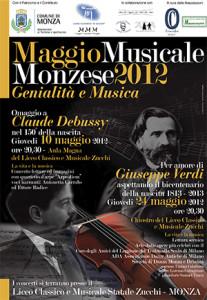 Maggio Musicale Monzese 2012, locandina