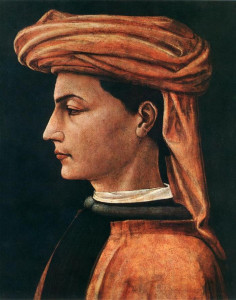 Guglielmo Ebreo ritratto da Paolo Uccello