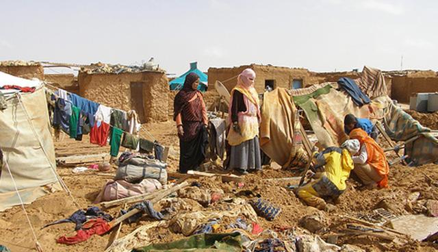 Sahrawi: Donne nel campo profughi a Tindouf, a sud ovest dell'Algeria