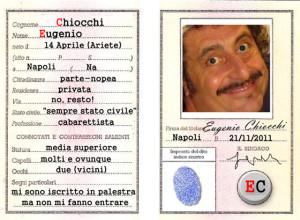 """Eugenio Chiocchi """"Kiokki"""", comico"""