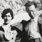 Alcide De Gasperi e Francesca Romani