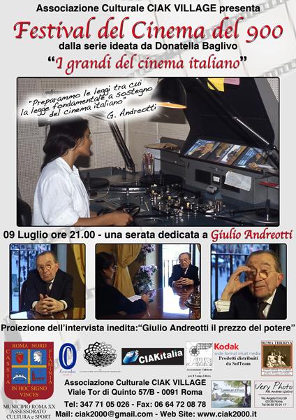 Giulio Andreotti: il prezzo del potere - locandina