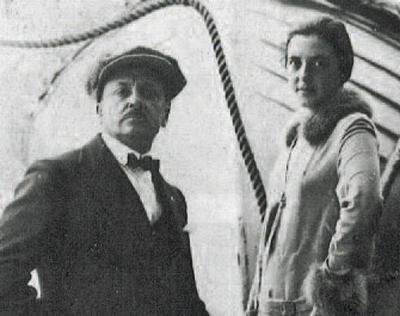 Filippo Tommaso Marinetti e Benedetta Cappa