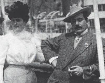 Giacomo Puccini ed Elvira Bonturi