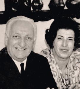 Enzo Ferrari e Lina Lardi