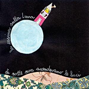 La casina sulla luna, disegno-poesia