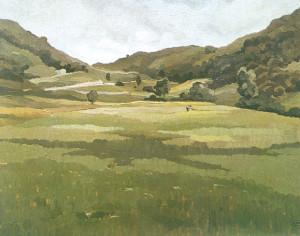 Erme Ripa - La Valle del Lambro - 1932