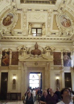 LOCATION: MILANO Palazzo Marino Sala Alessi