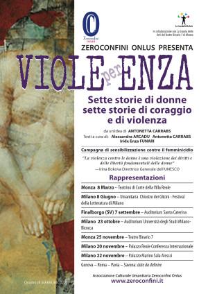 Viole per Enza locandina date 2013