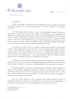 Mido 2014.11.7 Lettera del Ministro Beatrice Lorenzin
