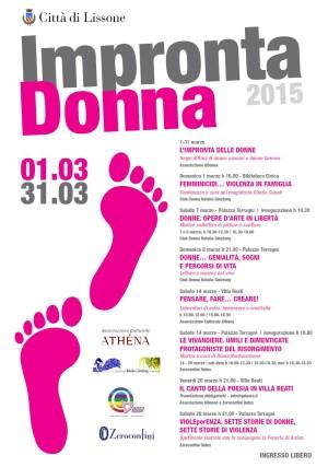 Programma Impronta Donna 2015