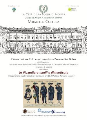 Mirabello Cultura Mostra Le vivandiere -