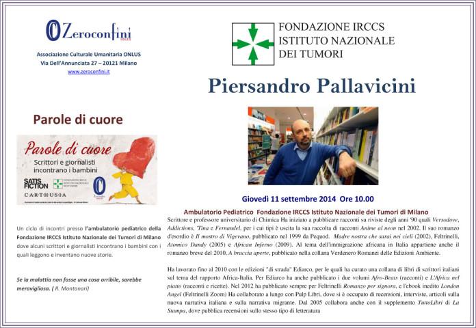 Parole di cuore 2014 11 settembre 2014 Piersandro Pallavicini