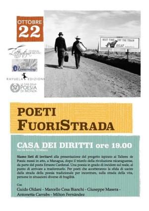 Poeti Fuori Strada - locandina fondazione