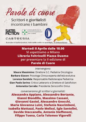 Parole di Cuore - 8 aprile 2014 - Libreria Feltrinelli Milano
