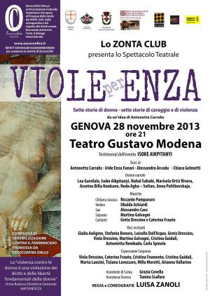 VIOLE PER ENZA Genova 28 NOV 2013 - TEATRO MODENA